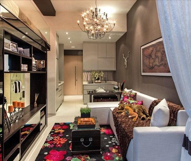 C mo decorar tu departamento peque o para aprovechar for Decoracion para minidepartamentos